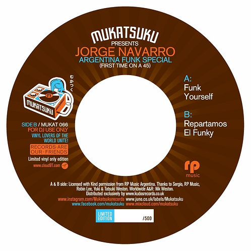 Jorge Navarro - Argentina Funk Special
