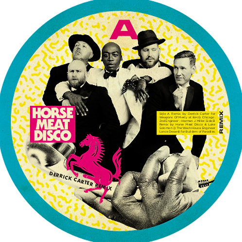 HORSE MEAT DISCO - WAITING FOR YOU TO CALL - REMIXES (FEAT HORSE MEAT DISCO & DE