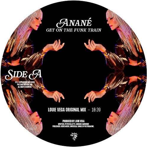 Anané - Get On The Funk Train (Produced by Louie Vega)