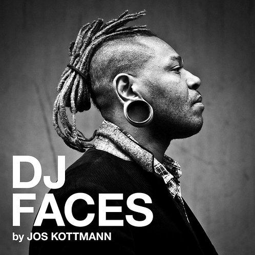 DJ Faces Book Jos Kottmann