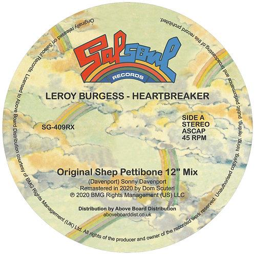 Leroy Burgess - Heartbreaker (Inc. Moplen Remix)