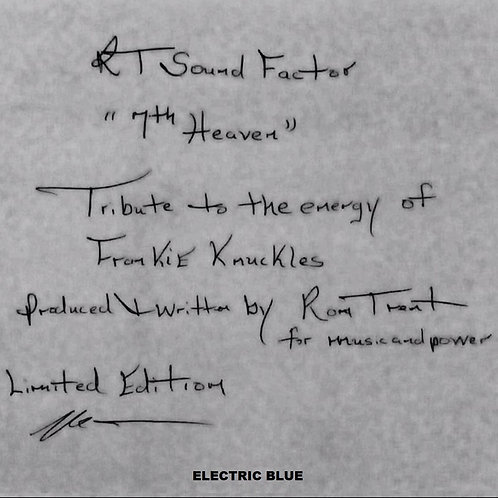 Ron Trent - 7th Heaven: Tribute To The Energy Of Frankie Knuckles