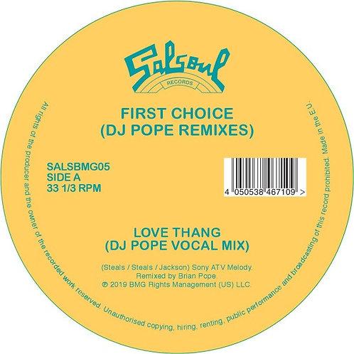 First Choice - Love Thang (DJ Pope Remixes)