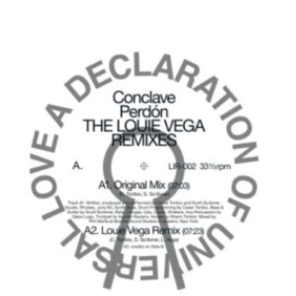 """Conclave - """"Perdón"""" THE LOUIE VEGA REMIXES"""