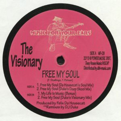 The VISIONARY - Free My Soul (reissue)