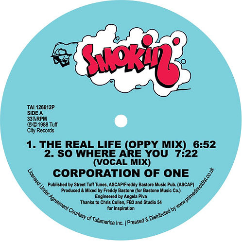 Corporation Of One The Real Life / So Where Are You