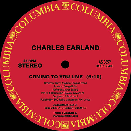 Charles Earland - Coming To You Live / I Will Never Tell