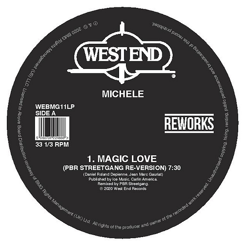 North End, Michele - Kind Of Life, Kind Of Love / Magic Love (PBR Streetgang Re-