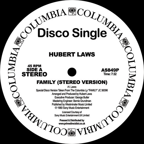 Hubert Laws - Family