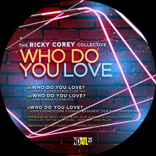The RICKY COREY COLLECTIVE - Who Do You Love?