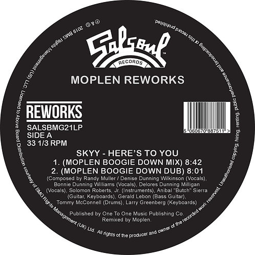 Skyy / The Salsoul Orchestra - Moplen Reworks