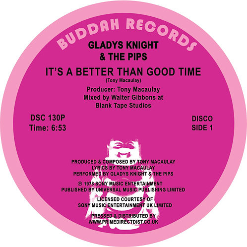Gladys Knight & The Pips - It's a Better Than Good Time / Saved By the Grace of