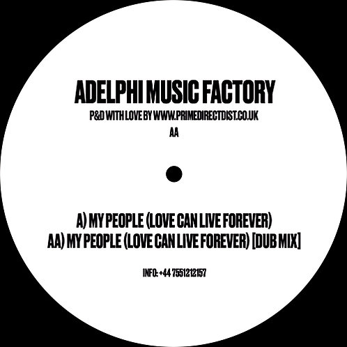 Adelphi Music Factory My People (Love Can Live Forever)