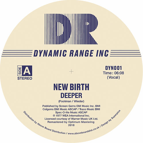 NEW BIRTH - DEEPER