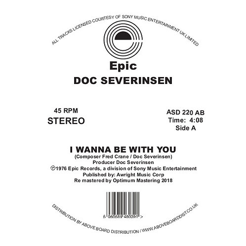 DOC SEVERINSEN - I WANNA BE WITH YOU (DJ HARVEY EDIT)