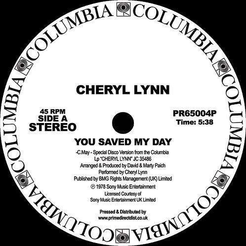 Cheryl Lynn You Saved My Day / Got to Be Real