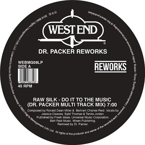 Raw Silk / Barbara Mason / Shirley Lites - Dr. Packer Reworks