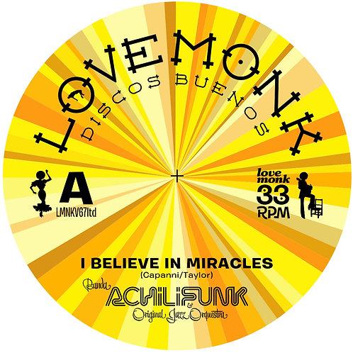 Banda Achilifunk & OJO - I Believe In Miracles Limited Edition Yellow Vinyl
