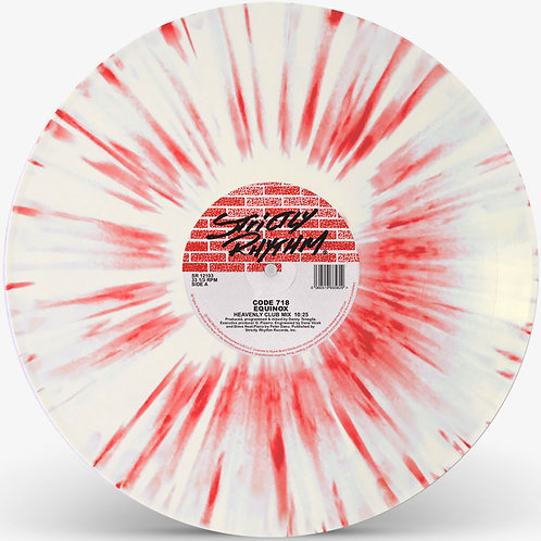 Code 718 (Danny Tenaglia) - Equinox (Red / White Splatter Vinyl Repress)