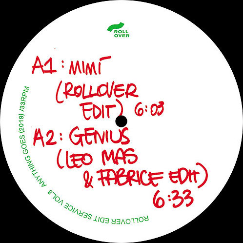 Various Artists - Rollover Edit Service Vol.3