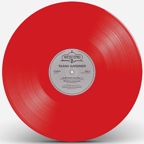 Taana Gardner - Heartbeat (Red Vinyl Repress)