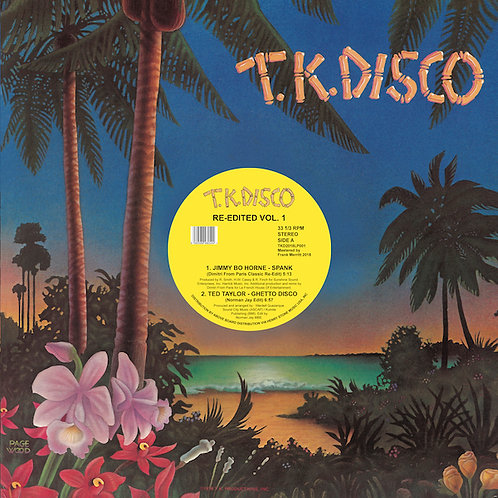 Various Artists - TK Disco Re-edited Volume 1