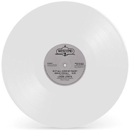 LOOSE JOINTS - IS IT ALL OVER MY FACE? (White Vinyl Repress)