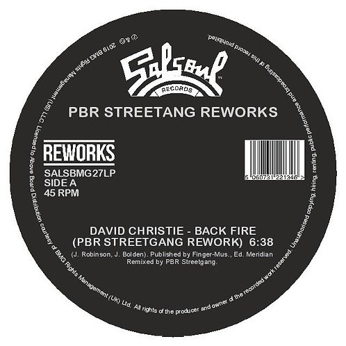 David Christie, The Destroyers - Back Fire / 'Lectric Love (PBR Streetgang Rewor