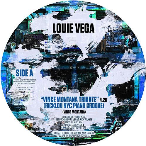 Louie Vega - Vince Montana Tribute (RickLou Retouch) (Yellow Vinyl)