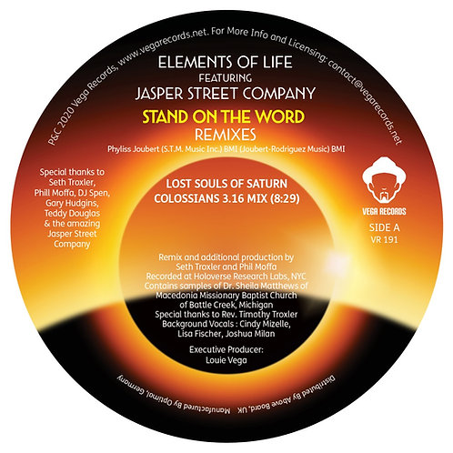 Elements Of Life Featuring Jasper Street Company - Stand On The Word (Lost Souls
