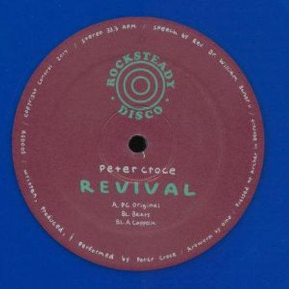 Peter Croce - Revival [reissue] Blue Vinyl