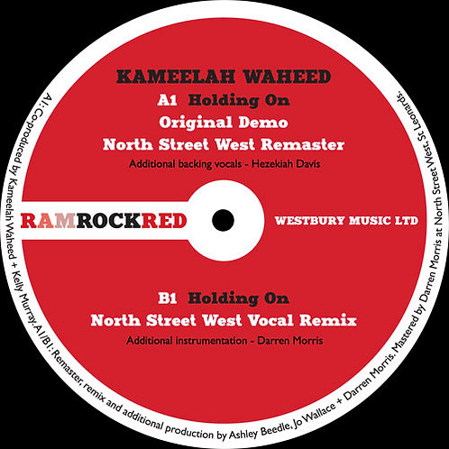 Kameelah Waheed - Holding On EP
