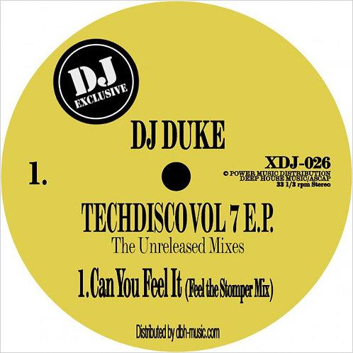 DJ Duke - Techdisco Vol 7 EP: The Unreleased Mixes