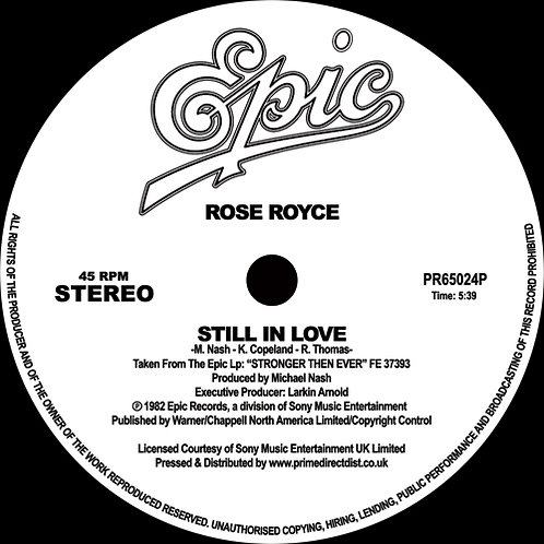 Rose Royce Still in Love