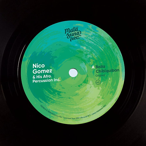 Nico Gomez And His Afro Percussion Inc. - Baila Chibiquiban