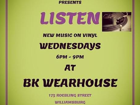 Listen & Buy at BK Wearhouse