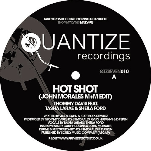 Thommy Davis Featuring Tasha LaRae / Sheila Ford - Hot Shot