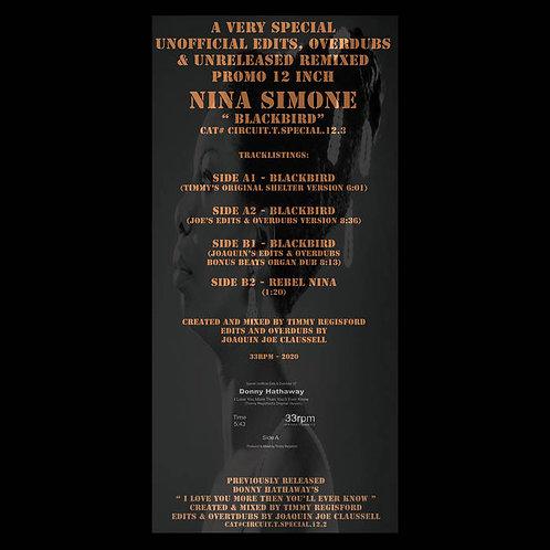 "Nina Simone - Blackbird 12""CLEAR SWIRL VINYL"