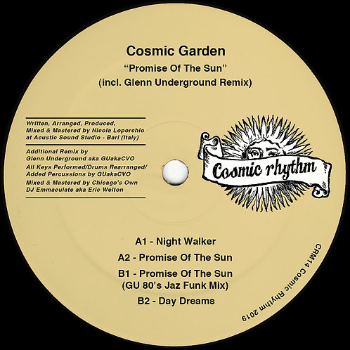 Cosmic Garden Promise Of The Sun (Glenn Underground Remix)