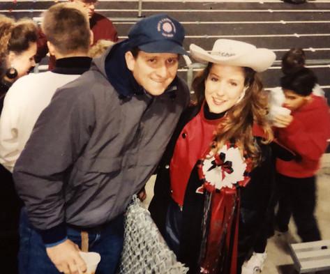 Ron and Kim K Bennett - 1990
