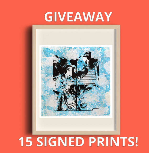 15 Signed Prints Giveaway!!!