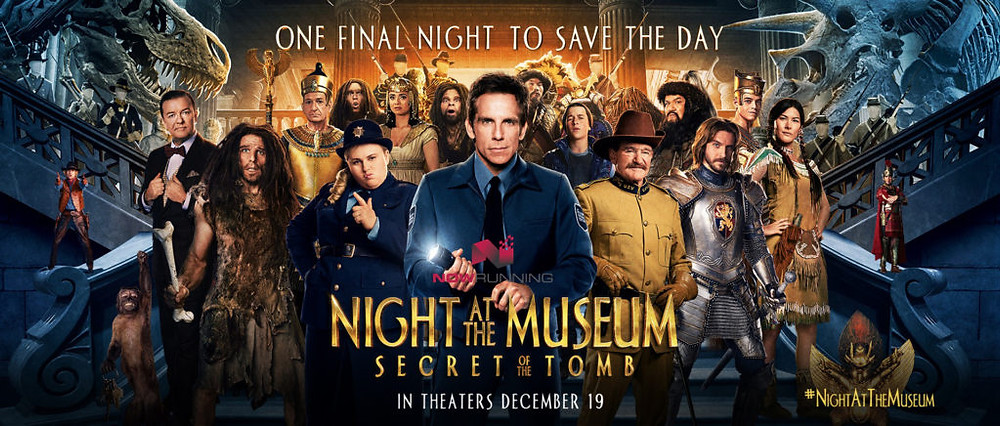 A promotional image for 2014's Night at the Museum: Secret of the Tomb. Artworks Advisory