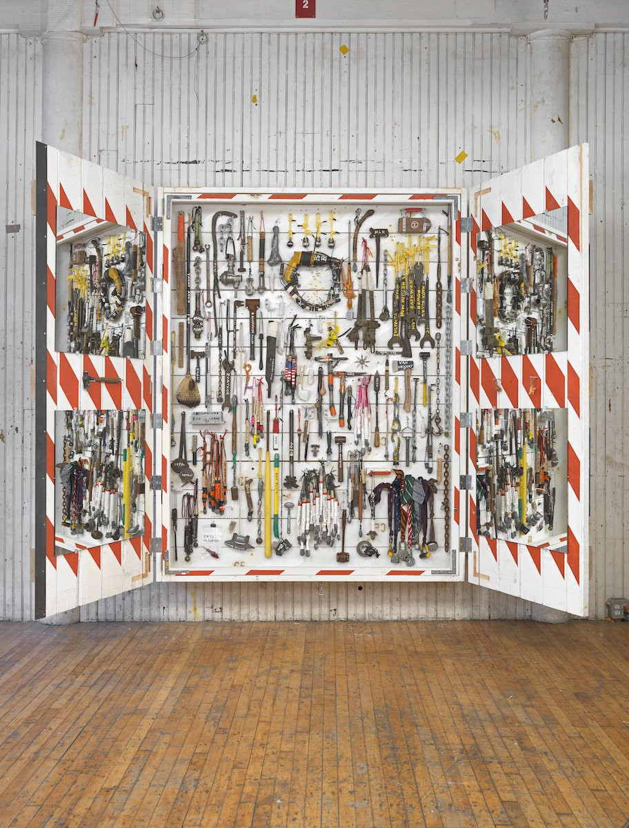 Tom Sachs, The Cabinet (2014). Courtesy of Sperone Westwater.