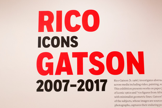 Rico Gatson: Icons