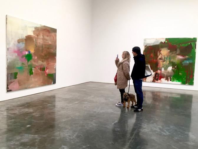 Albert Oehlen at Gagosian Gallery