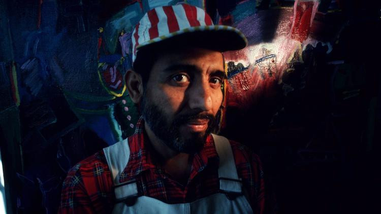 Carlos Almaraz, photographed in 1989, six months before his death. (Richard Schulman / Getty Images) Artworks Advisory