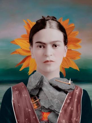 Portrait of Frida Kahlo (Vol.5)