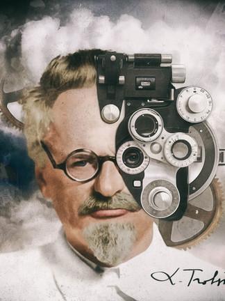 Portrait of Leon Trotsky