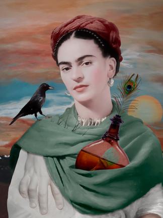 Portrait of Frida Kahlo (Vol.4)