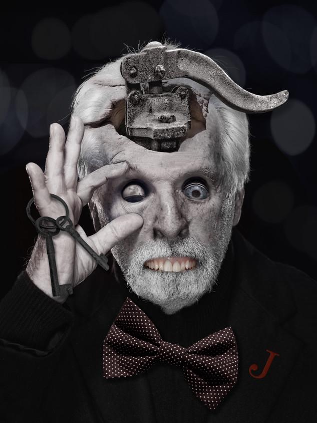 Portrait of Alejandro Jodorowsky